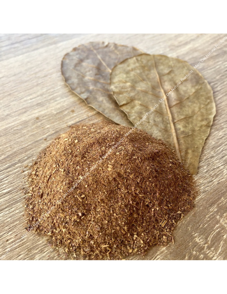 Catappa powder, food for freshwater shrimp