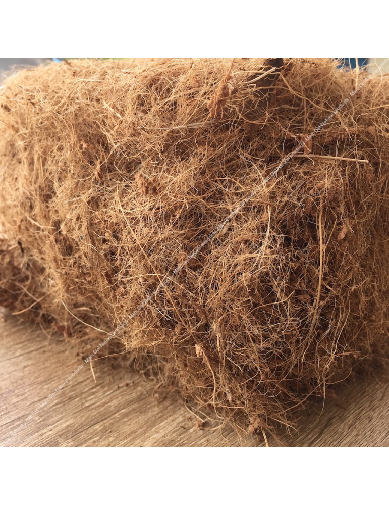 Coconut straw - Natural soil complement for aquarium