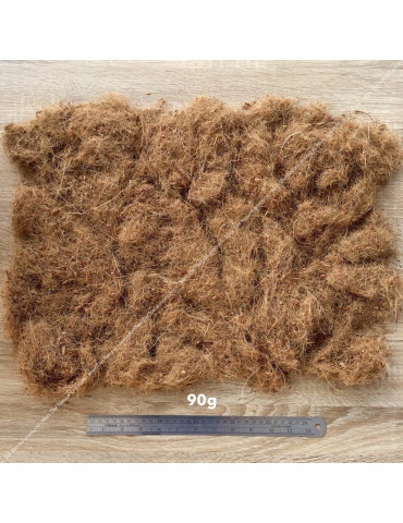 Coconut straw 90g - Natural soil complement for aquarium