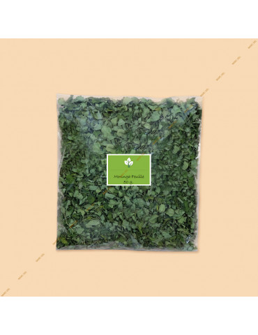 Moringa leaves aquarium - bag